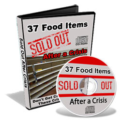 37 critical Food Items