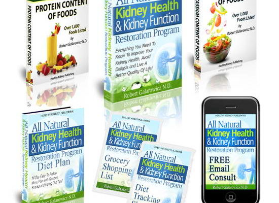 No Dialysis Needed - All Natural Kidney Health & Kidney Function Restoration Program