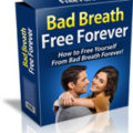 Bad Breath Free Forever box